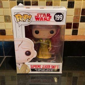Funko Pop Star Wars Supreme Leader Snoke 199
